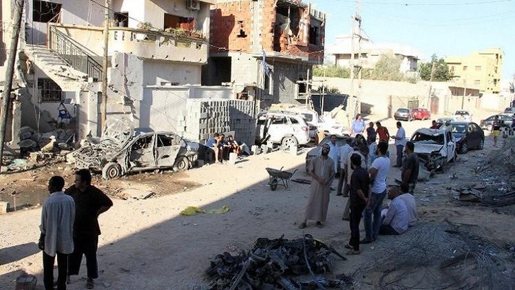تجدد الاشتباكات في ليبيا والحكومة تدعو لوقف القتال