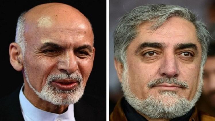مرشح الرئاسة الأفغاني ينذر منافسه بعدم قبول نتائج الانتخابات