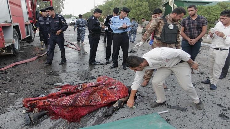 قتلى وجرحى في تفجيرين انتحاريين ببغداد