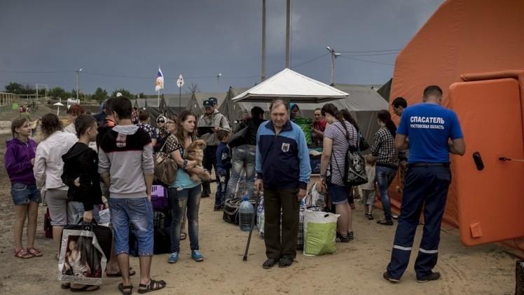 نحو 19 ألف لاجئ أوكراني في مراكز الإقامة المؤقتة في روسيا