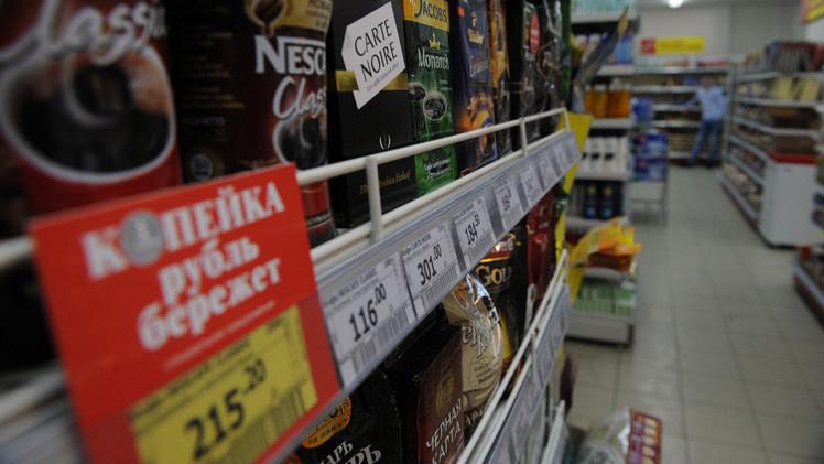 روسيا تتجاوز ذروة التضخم السنوي