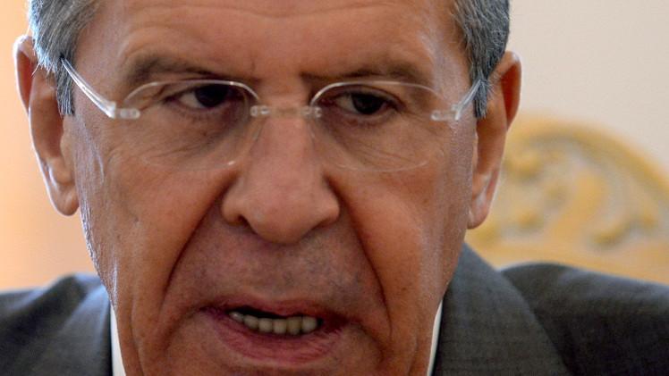 لافروف: لا توجد أية ذرائع أو حجج لتأجيل إعلان الهدنة في أوكرانيا