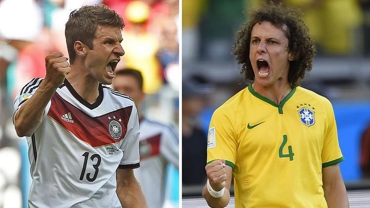 مونديال 2014 .. البرازيل الجريحة تواجه الماكينات الألمانية الضاربة في