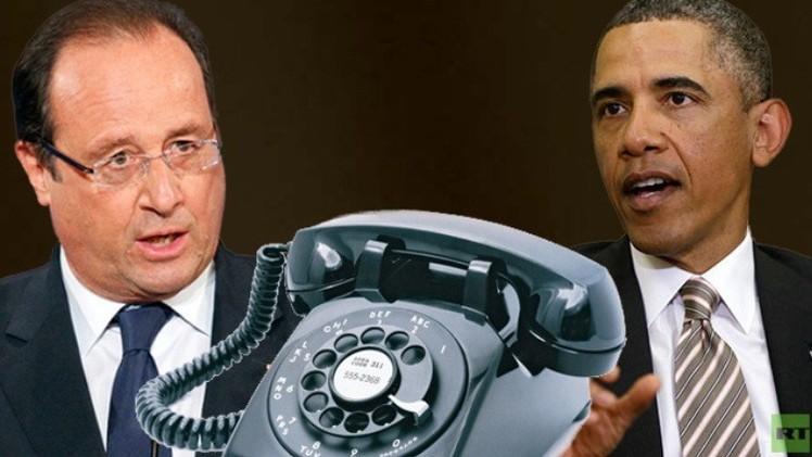 أوباما وهولاند يؤيدان عملية بوروشينكو ويهددان روسيا بعقوبات جديدة