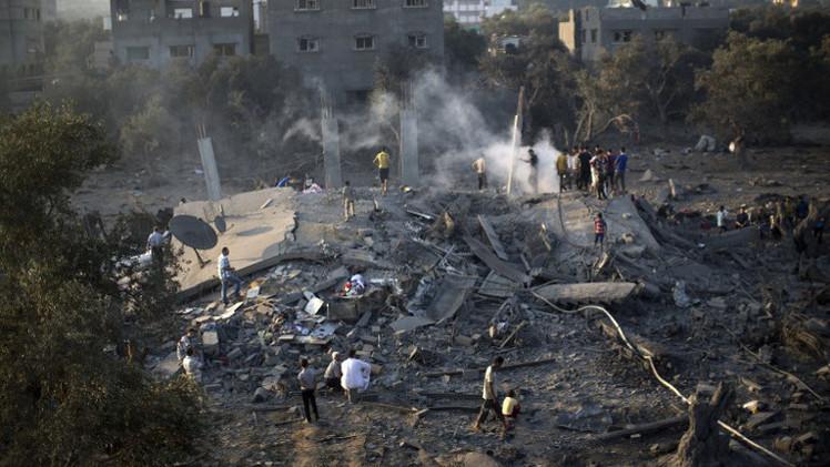 إسرائيل تعلن بدء عملية عسكرية في غزة 53bbaafd611e9bcd628b45b9