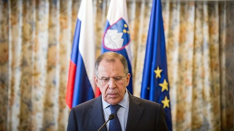 لافروف: نؤيد الوقف الفوري لإطلاق النار واستخدام القوة في أوكرانيا