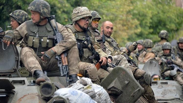 روسيا تطالب بوقف جميع العمليات العسكرية في شرق أوكرانيا