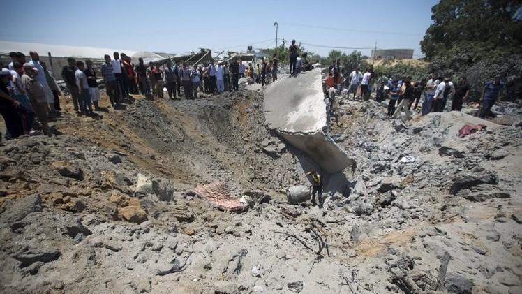 ارتفاع حصيلة قتلى الغارات الإسرائيلية على قطاع غزة إلى 61 وإصابة أكثر من 500