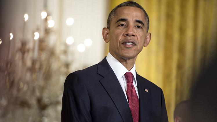 أوباما يحث الإسرائيليين والفلسطينيين على ضبط النفس وعدم التصرف بطريقة انتقامية