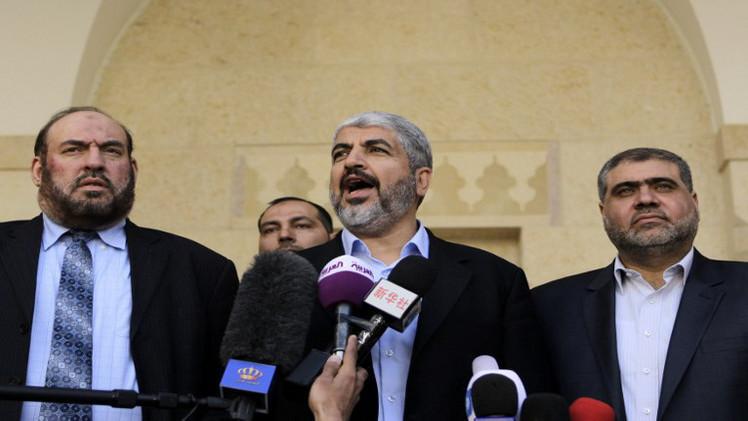 مشعل: نتانياهو أوصل المفاوضات لطريق مسدود ويحاول إفشال المصالحة الوطنية
