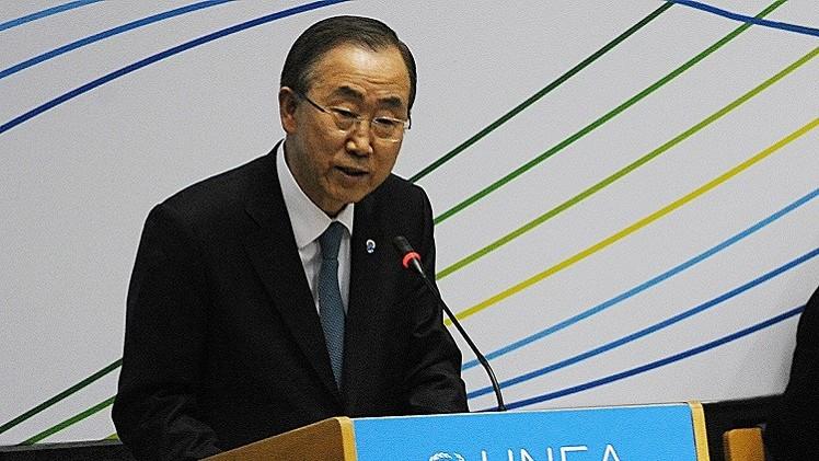 بان كي مون: المفاوضات حول تعيين مبعوث أممي جديد إلى سورية مستمرة