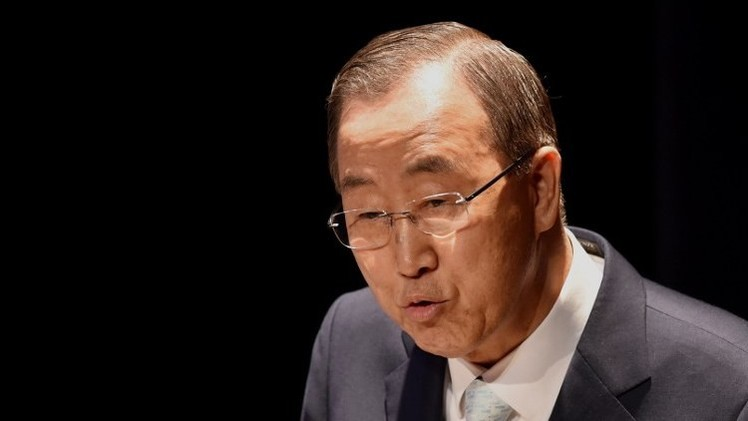بان كي مون يدعو إلى عقد اجتماع طارئ لمجلس الأمن لمناقشة الوضع في قطاع غزة وإسرائيل