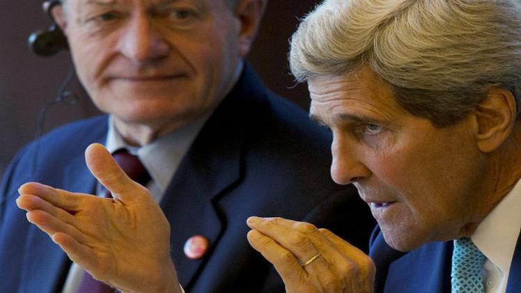 كيري: الولايات المتحدة تؤيد حق إسرائيل في الدفاع عن نفسها