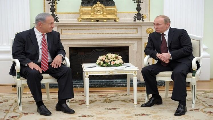 بوتين يؤكد لنتانياهو ضرورة وقف المواجهة العسكرية في قطاع غزة