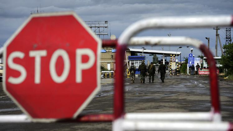 تعليق عمل ثلاثة معابر روسية على الحدود مع أوكرانيا