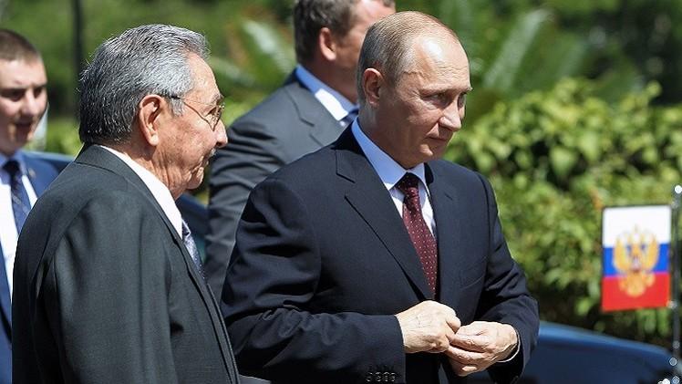 بوتين: سنساعد كوبا في تجاوز الحصار الأمريكي غير الشرعي