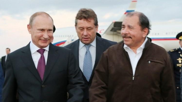 روسيا ونيكاراغوا تناقشان تطوير التعاون الثنائي