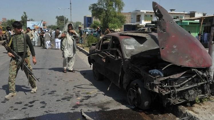 مقتل 8 مدنيين في انفجار عبوة ناسفة جنوب أفغانستان