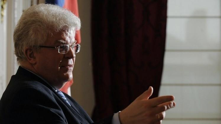 تشيجوف: العقوبات الأوروبية تقود إلى طريق مسدود وتعقد الحوار السياسي داخل أوكرانيا