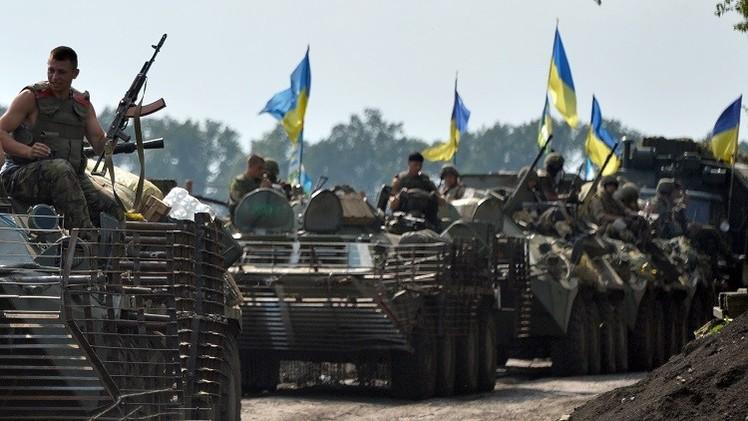 إسقاط طائرة أوكرانية في دونيتسك بشرق أوكرانيا