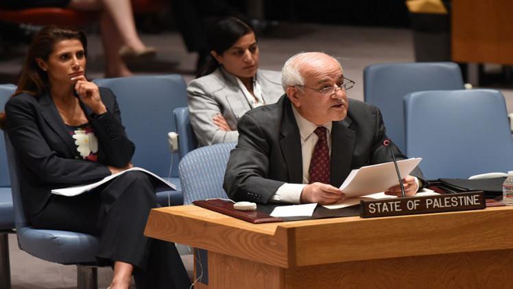 المندوب الفلسطيني: نرحب ببيان مجلس الامن ونأمل أن يلتزم به الجانب الاسرائيلي