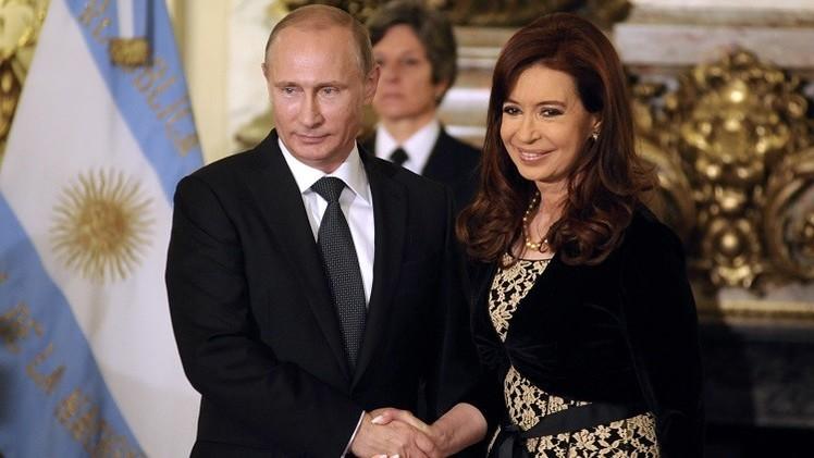 بوتين يعبّر عن شكره للأرجنتين لإتاحتها إمكانية بث قناة RT