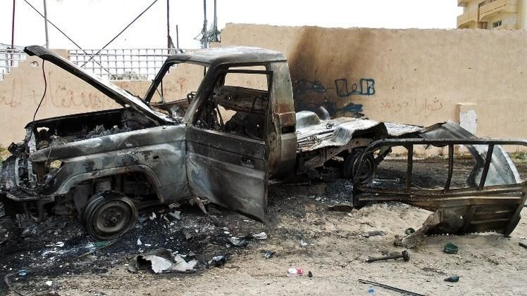 مقتل 6 أشخاص وجرح 25 آخرين في اشتباكات حول مطار طرابلس الدولي