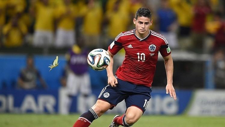 الكولومبي رودريغيز: أحلم باللعب في ريال مدريد