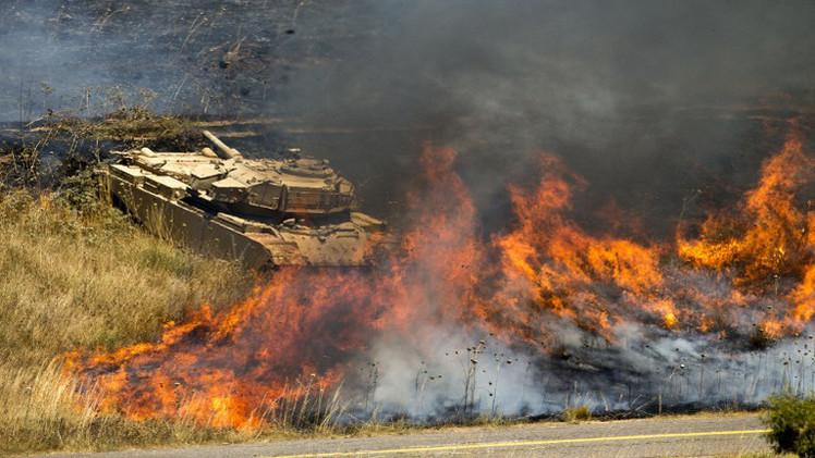مراسلتنا: الجيش الإسرائيلي يستهدف بمدفعيته مراكز عسكرية في الأراضي السورية
