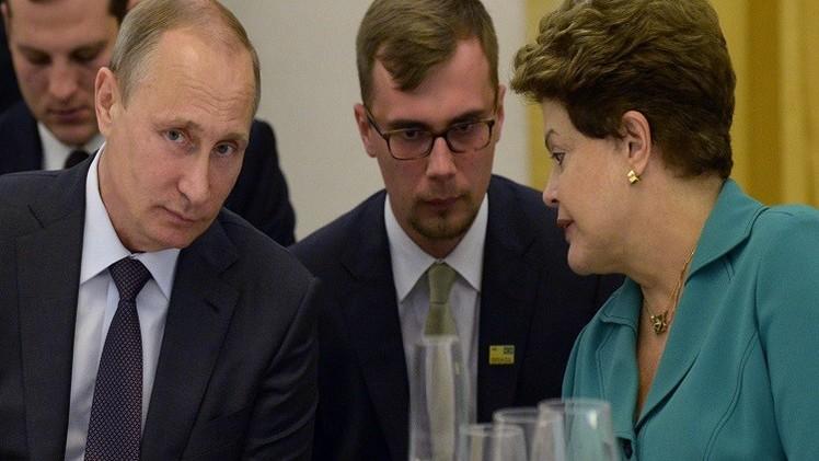 بوتين في برازيليا لتشجيع التعاون الاقتصادي