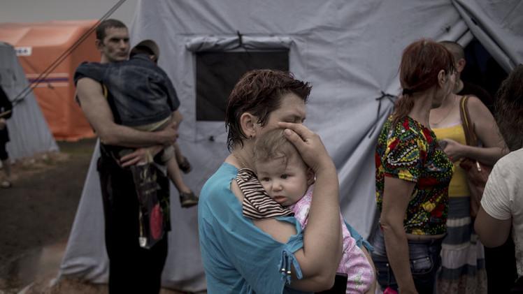 الطوارئ الروسية: أكثر من 30 ألف لاجئ أوكراني في روستوف