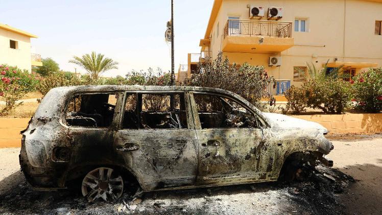 بان كي مون: تصاعد العنف في ليبيا يقوض فرص إقامة دولة القانون