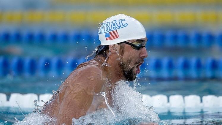 الفرنسي إنيل ينتزع ذهبية 100 متر سباحة حرة من الأمريكي فيلبس