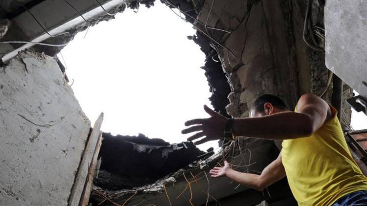 مقتل 8 مدنيين  في قصف لوغانسك شرقي أوكرانيا