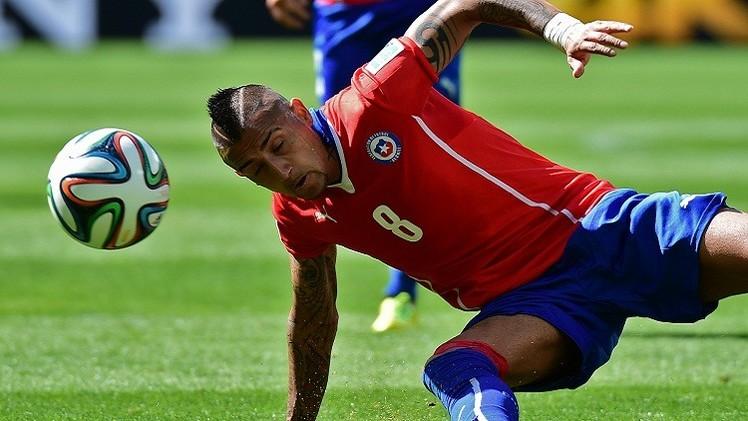 سعر اللاعب التشيلي فيدال يعرقل انتقاله إلى مانشستر يونايتد