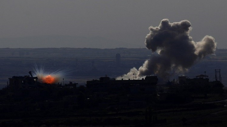 مقتل وإصابة 14 شخصا في غارة إسرائيلية على أهداف سورية في الجولان