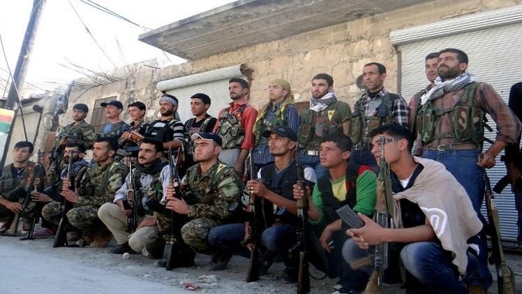 مئات المقاتلين الأكراد يصلون سورية قادمين من تركيا لمحاربة