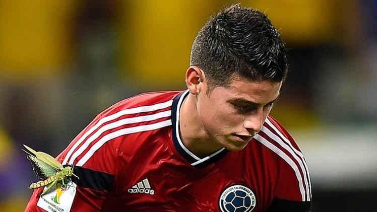 الكولومبي رودريغز يقترب كثيرا من ريال مدريد