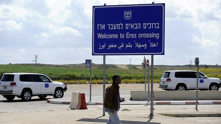 مراسلتنا: مقتل إسرائيلي وجرح آخر جراء سقوط صاروخ على معبر إيريز شمال قطاع غزة