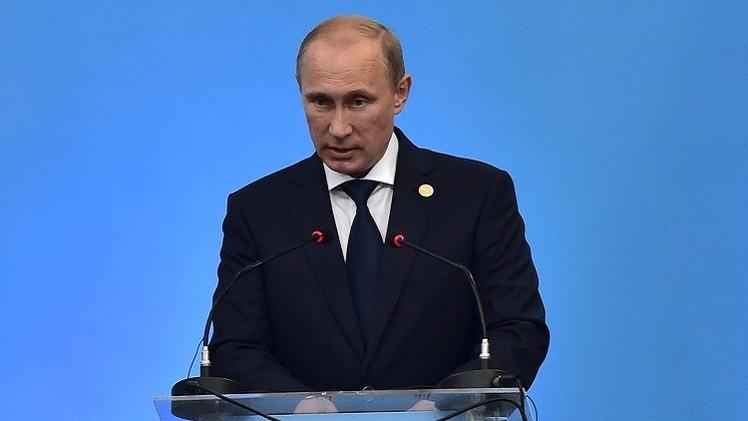 بوتين: موقف بريكس الموحد جنّب سورية التدخل الخارجي