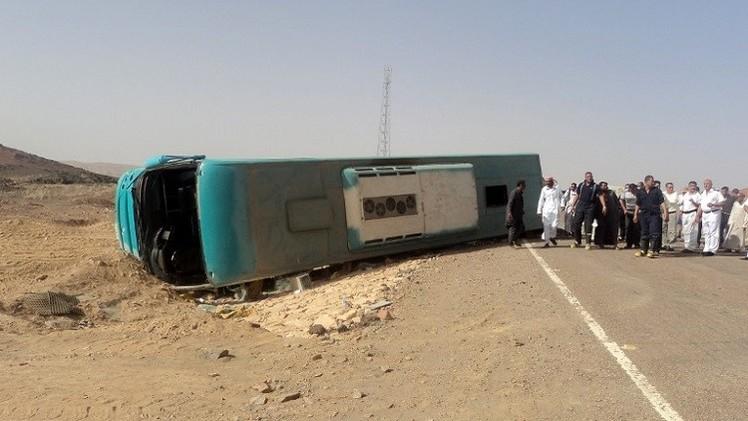 مصر.. 17 قتيلا على الأقل في حادث مروري جنوب القاهرة