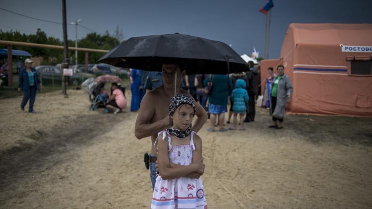 روستوف الروسية تستقبل 32 ألف لاجئ أوكراني