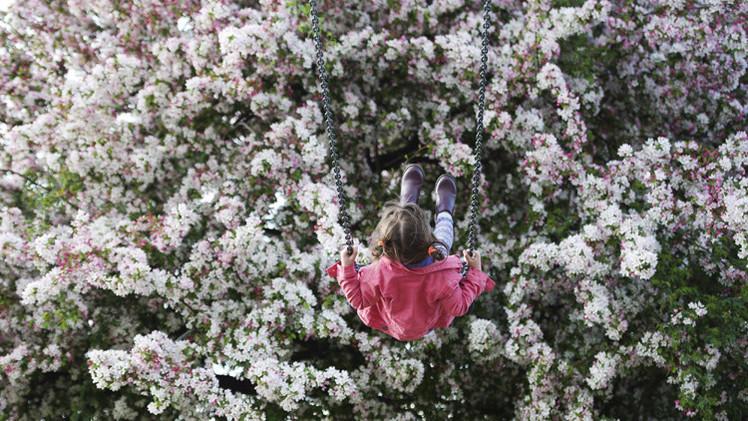 القبض على أمريكية تركت طفلتها وحيدة في الحديقة العامة لتذهب إلى العمل