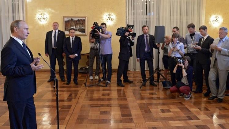 بوتين: واشنطن تؤجج النزاع الأوكراني وعقوباتها ضدنا تعارض مصالحها