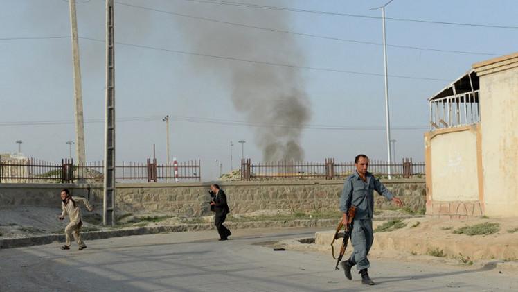 الأمن الأفغاني يصد هجوما على مطار كابول (فيديو)