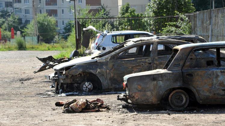 أنباء عن تراجع القوات الأوكرانية في ضواحي لوغانسك وقرب الحدود مع روسيا