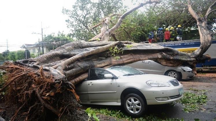 الإعصار راماسون يقتل 38 في الفلبين (فيديو)
