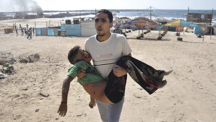 بالفيديو.. لحظة استهداف 4 أطفال على شاطئ غزة في قصف إسرائيلي