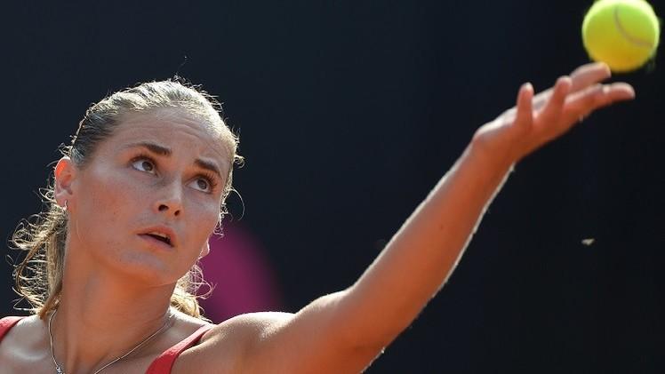الروسية بانوفا تواجه الإسبانية إسبينوزا في ربع نهائي دورة باشتاد للتنس