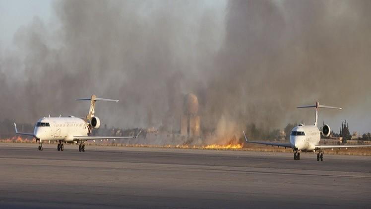طرابلس تطلب حماية أممية لموانئها..واتفاق لوقف إطلاق النار حول المطار
